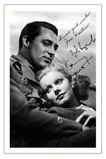 CARY GRANT AND JEAN HARLOW AUTOGRAPH SIGNED PHOTO PRINT SUZY 1936
