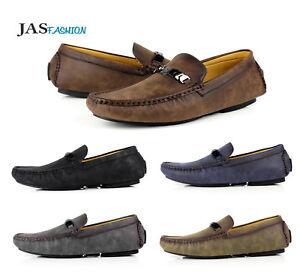 Hommes Enfiler Mocassins Conduite Chaussures Casual Moccasin Jas Fashion Brand Taille Uk-afficher Le Titre D'origine Facile Et Simple à Manipuler