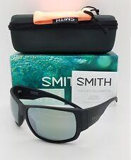 3b617a1dcd1 NEW Smith Dockside Sunglasses Matte Black ChromaPop Polarized Platinum  219  NIB