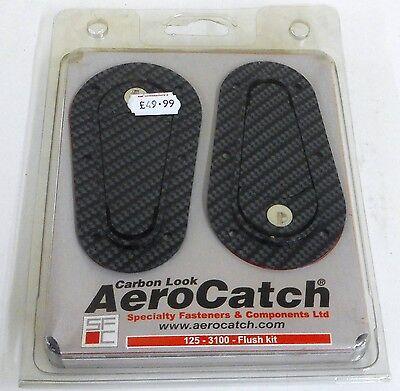 Carbon Look AeroCatch Flush Locking Fasteners 125-3100