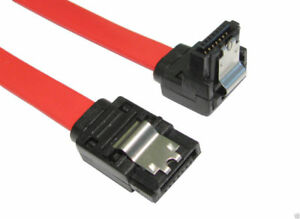 45cm-SATA-II-2-Data-Cable-Right-Angled-Locking-Clips