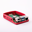 Red-White-Case-for-Raspberry-Pi-4 thumbnail 2