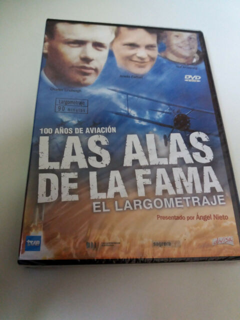 "DVD ""LAS ALAS DE LA FAMA EL LARGOMETRAJE"" PRECINTADA SEALED ANGEL NIETO"