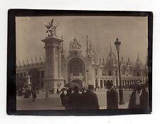 PHOTO - PARIS - EXPOSITION EXPO UNIVERSELLE DE 1900 - Tirage d'époque Vintage