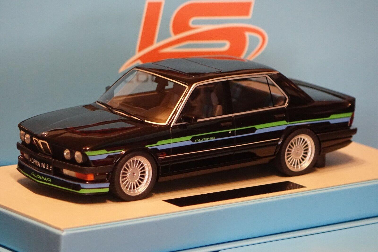 Bmw Alpina b10 3,5 negro 1985 1 of 250 1 18 ls-Collectibles ls044a nuevo & OVP