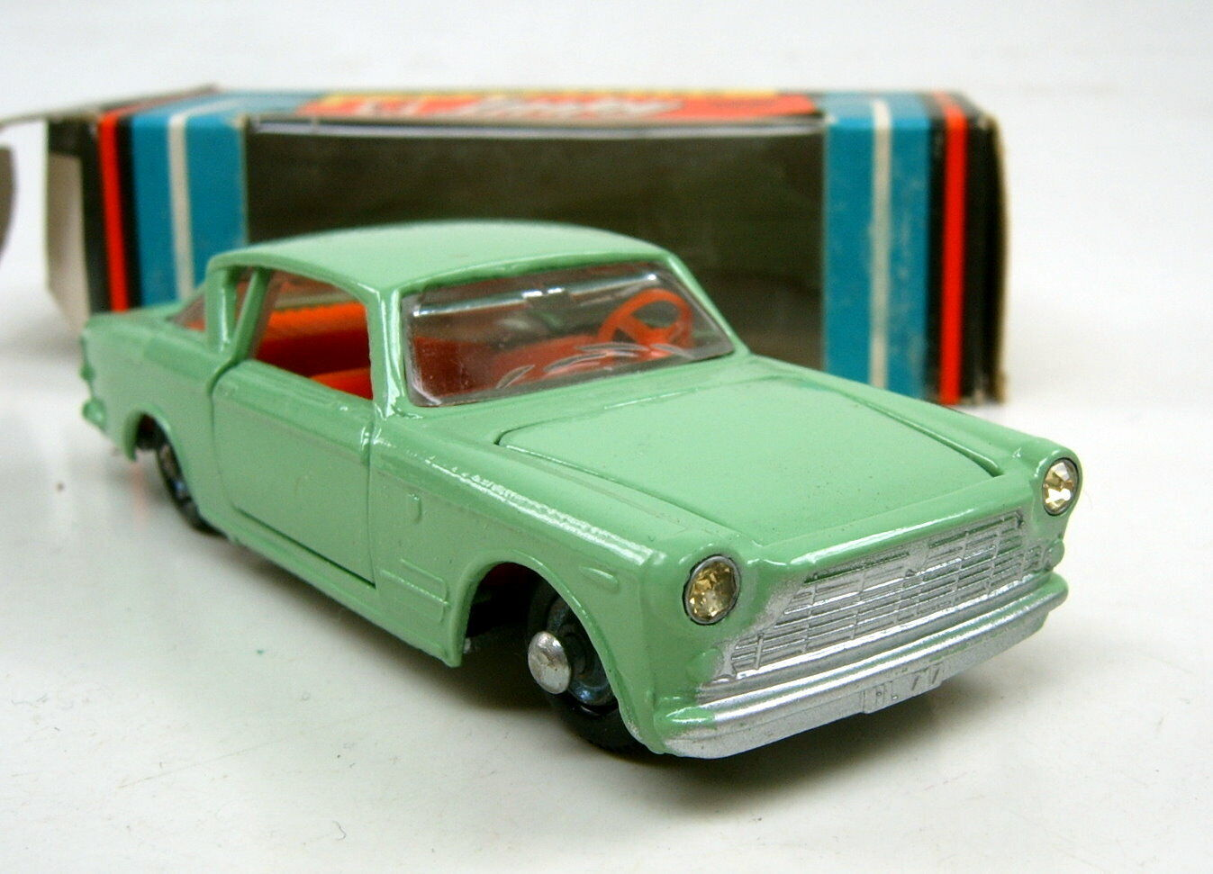 Lone Lone Lone Star Impy No.21 Fiat 2300 Coupe green orange Einrichtung top in Box 147287