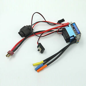 Racing 60A ESC Brushless Electric Speed Controller For 1:10 RC Car Truck T Plug