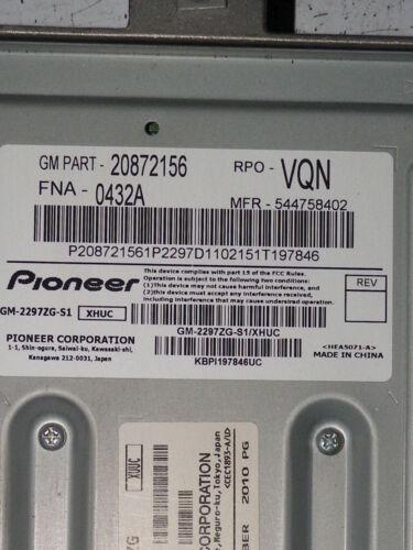 2010 2011 2012 2013 10 11 12 13 EQUINOX TERRAIN AMPLIFIER CONTROL MODULE UNIT