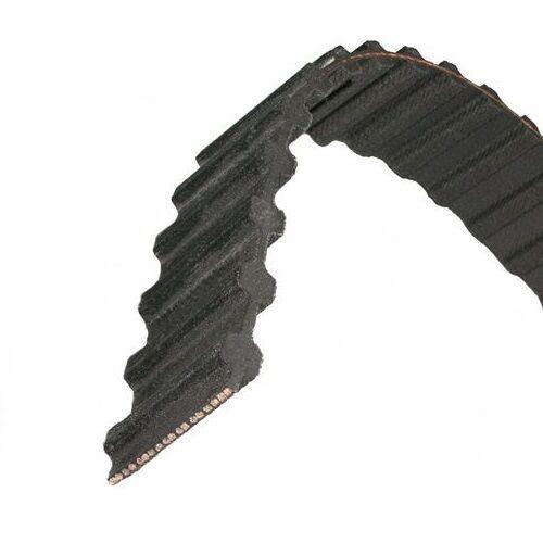 D187L100 Dual Timing Belt   18.7   Length, 3 8   Pitch, 1   Width, 50 Teeth