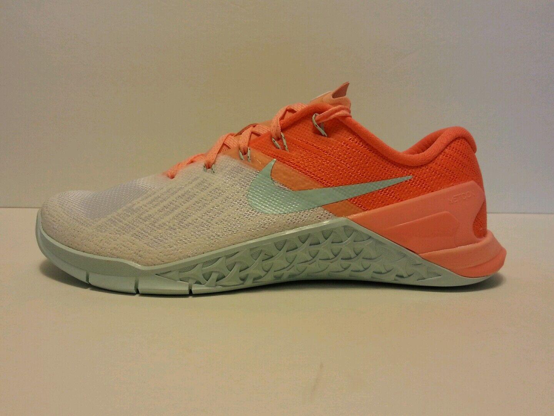 12e810fbdad3d Wmns Nike Metcon 3 AMP Sz 7.5-9 7.5-9 7.5-9 White Glacier Blue 849808-104  FREE SHIPPING 46fe8f