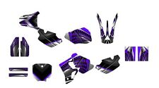 CR 80 graphics decal kit 1996 1997 1998 1999 2000 2001 2002  kit #7777 Purple