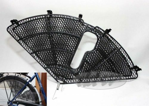 Kleidernetz Rockschutz Kleiderschutz Fahrradnetz braun paar rechts links