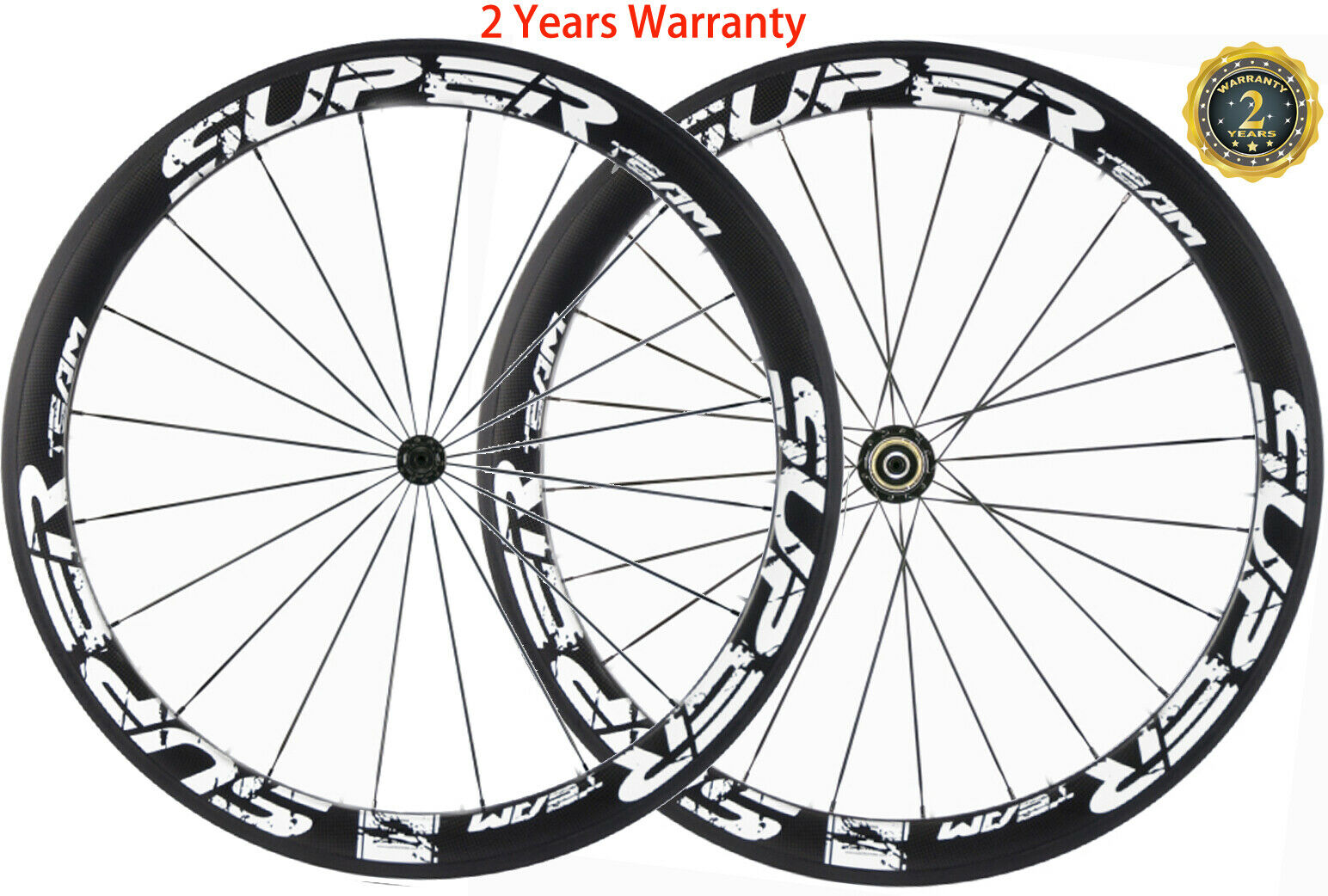 50mm Carbon Wheels Road Bike Cycle Wheelset 700C UD 3K Wheelset Shimano Campy