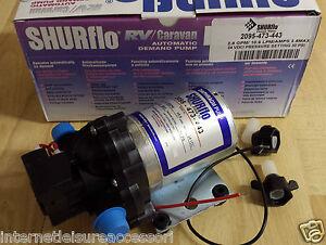Details about SHURFLO 24 VOLT - 10 6 l/min - 30psi - Coach / Truck /  Horsebox Water Pump 24v