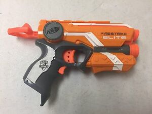 Image is loading Nerf-N-Strike-Elite-Firestrike-Blaster-Nerf-Gun-
