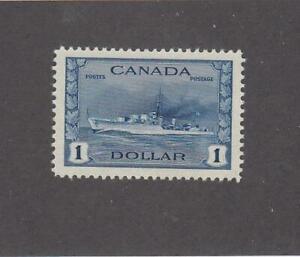 CANADA (MK6199) # 262 VF-MLH $1 1942 RCN TRIBAL CLASS DESTROYER /DP BLUE CV $100