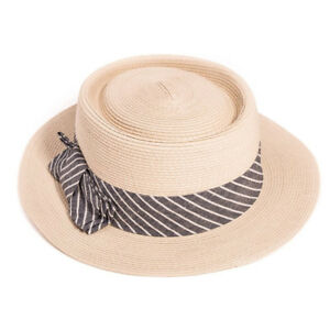 S329-Ladies-Crushable-Straw-Boater-Hat-With-Stripe-Band