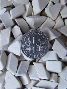 Ceramic-Tumbling-Media-2-Lbs-3-8-034-X-1-4-034-Triangle-Tumbler-Lapidary-Non-Abrasive