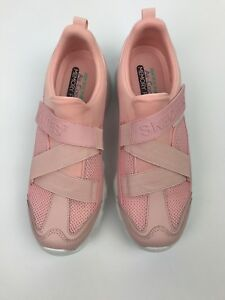 f883a78defa7f Details about Skechers D'Lites Best Bet Womens Light Pink Air Cooled Memory  Foam Size 10 12975