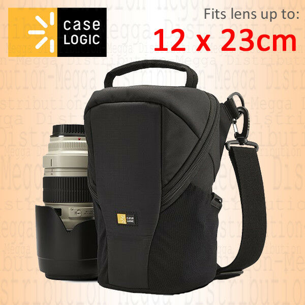 Case Logic Luminosity DSLR Lens Exchange Padded Protective Waterproof Carry Bag