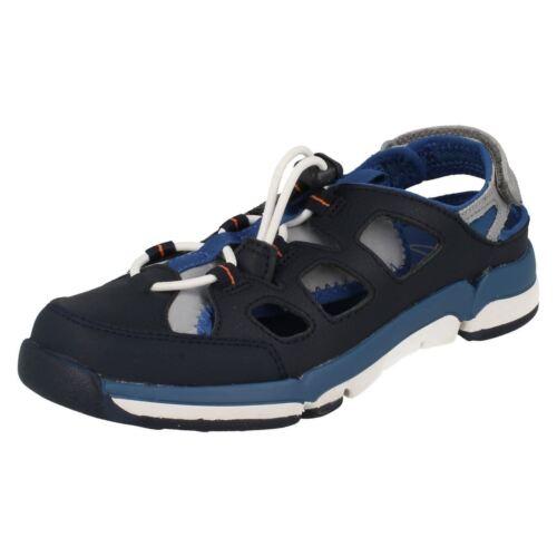 azul Boys azul Clarks cerrada con sandalias punta marino Junior Bwq6xzn6