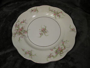 THEODORE-HAVILAND-NEW-YORK-ROSALINDE-10-1-2-DINNER-PLATE-EXCELLENT-CONDITION