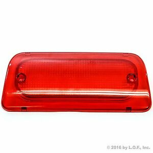 Details About 94 04 Chevy S10 Gmc Sonoma Reg Crew Cab High 3rd Brake Light Lens Genuine Rha