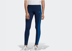 ADIDAS-PANTALONE-TUTA-LEGGINGS-LEGGINS-DONNA-COLLANTS-EJ9022-BLU-NAVY-3STRTHIGHT