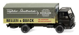 WIKING-043702-MB-NG-Flatbed-Truck-034-Nellen-amp-Quack-034-Ho-1-87-New