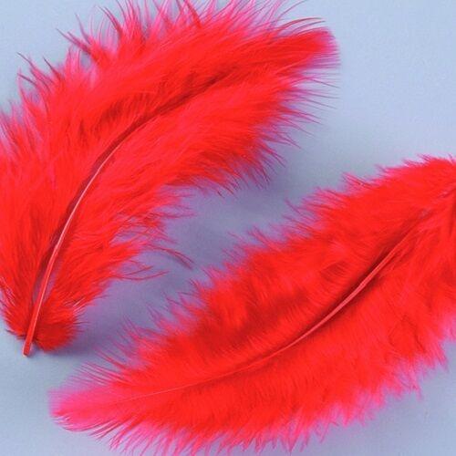 Marabufedern Federn flauschig weich Dekofedern Fasching 18 Farben 100g=82,50€