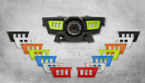 6 switch dash panel for Polaris RZR XP 900 2015-2018 Lime