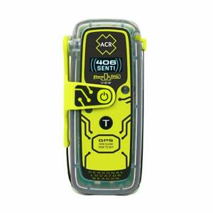 ACR ResQLink View - Buoyant GPS Personal Locator Beacon (Model PLB-425)