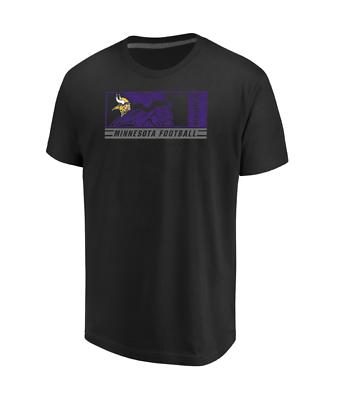 NFL Minnesota Vikings Men s Majestic Hook and Ladder T-Shirt - Black ... eec3bb42f