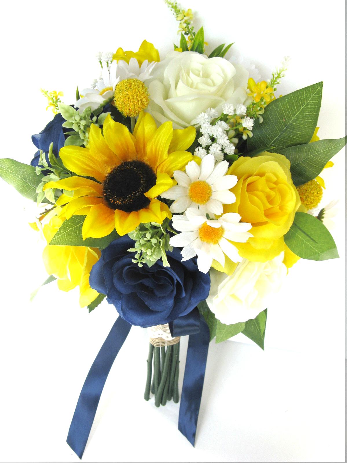 Ultimate Fake Sunflower Bouquet Bundle