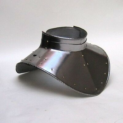 Iron Gorget Set ~ Medieval Knight Crusader Spartan Armor ~ Steel Armer