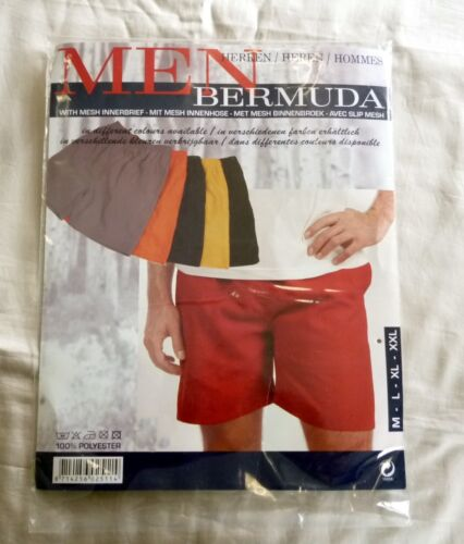 Bermuda da Bagno Arancione Taglia L = 52 per uomo e ragazzo