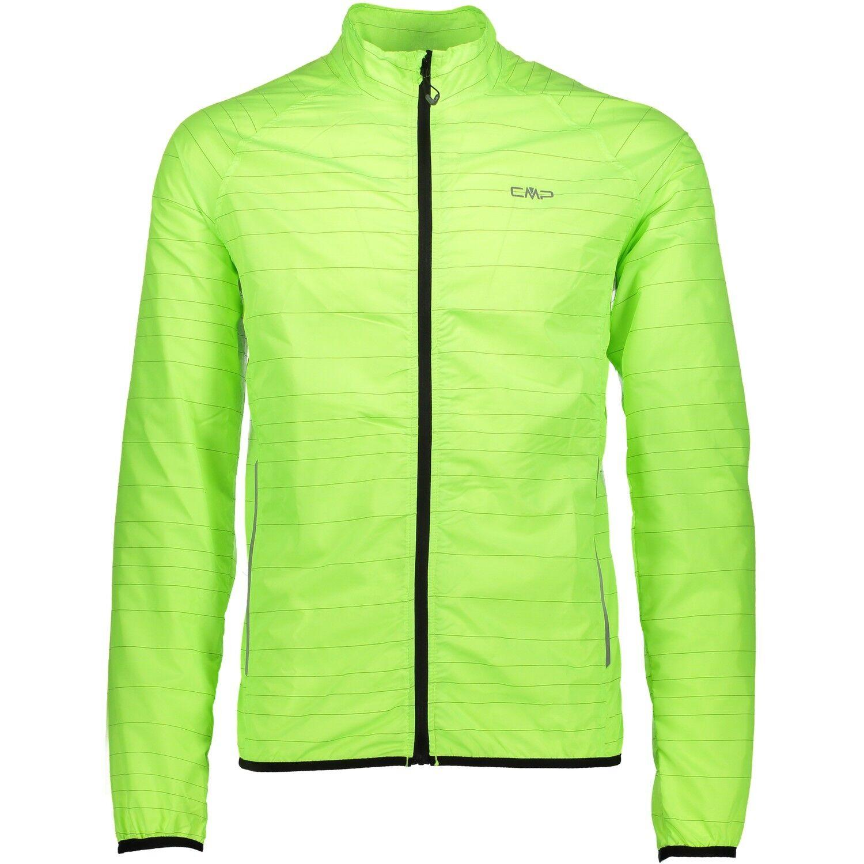 CMP Maglia Ciclismo Giacca Funzionale Neon verde Riflettente Sport ³ Line