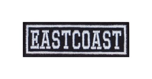 Eastcoast Biker Patch Aufnäher Motorrad MC Badge Kutte Vest Harley Chopper V2 CC
