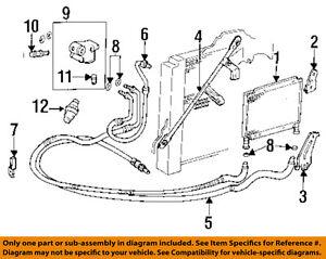 cadillac gm oem 93 95 eldorado 4 6l v8 engine oil cooler cooler line rh ebay com Ford 4.6L Engine Vacum Diagram Ford 150 4.6L Engine Diagram