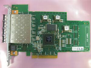 IBM 31P1811 31P1630 00FW850 2145-DH8 4-PORT PCI FIBER CHANNEL CARD +TRANSCEIVERS