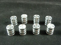 Lionel Trains Postwar 455-23 Oil Drums - Set Of Eight