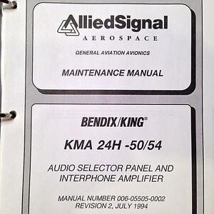 king kma 24h 50 54 service manual ebay rh ebay com Bendix King KX99 Schematic Bendix King KX 125