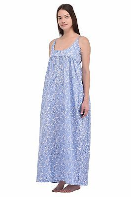 Plus Size Ladies Printed Cotton Nightdress | Cotton Lane
