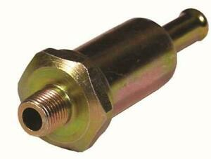 Metal-Filter-Union-To-Suit-Facet-Solid-State-Fuel-Pumps-1-8-NPT-8mm-Tail