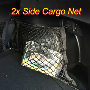 Right-Left-Side-Rear-Cargo-Net-Mesh-Side-Nets-For-Subaru-Forester-Impreza-XV