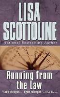 Lisa Scottoline Running From The Law Very Good Book
