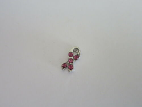 AWARENESS BREAST CANCER Floating Charm for Living Memory Locket BUY 5 GET 2 FREE