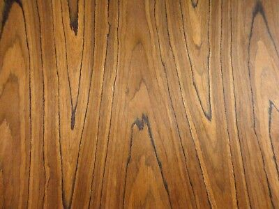 """African Zebrawood composite prefinished wood veneer 8/"""" x 10/"""" with paper backer"""