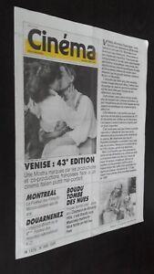 Revista-Semanal-Cinema-Semana-de-La-17A-23-Siete-1986-N-368-Buen-Estado