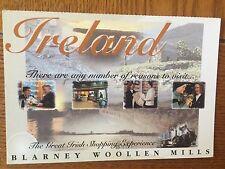POSTCARD NEW UNUSED IRELAND--BLARNEY WOOLLEN MILLS, BLARNEY, Co. CORK
